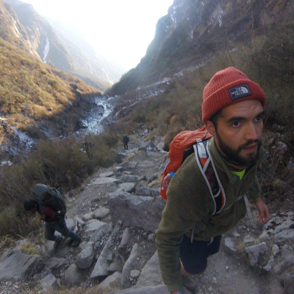 Trekking hinauf zum Annapurna Base Camp, Nepal