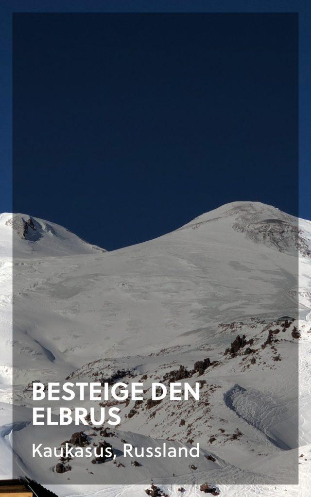 Besteige den Elbrus