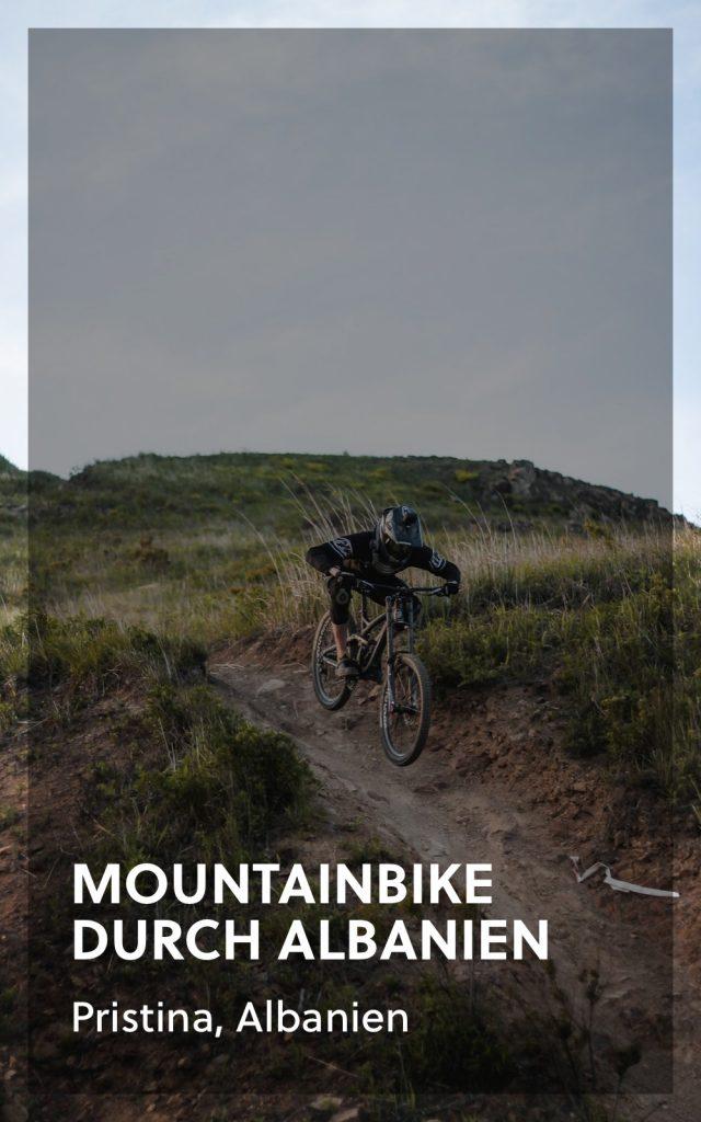 Mountainbike in Albanien