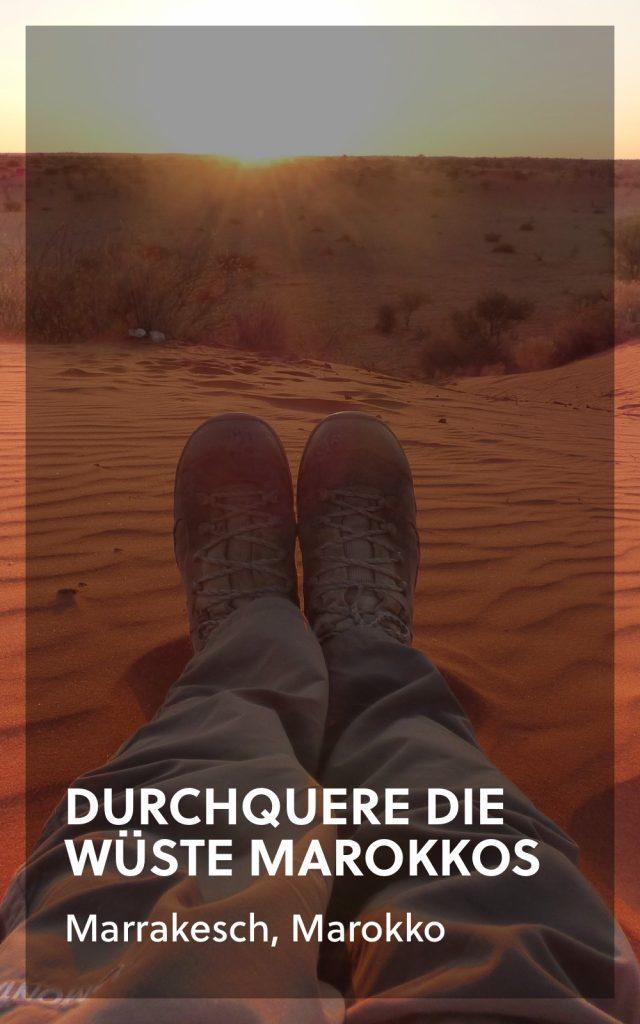 Trekking in der Sahara Wüste
