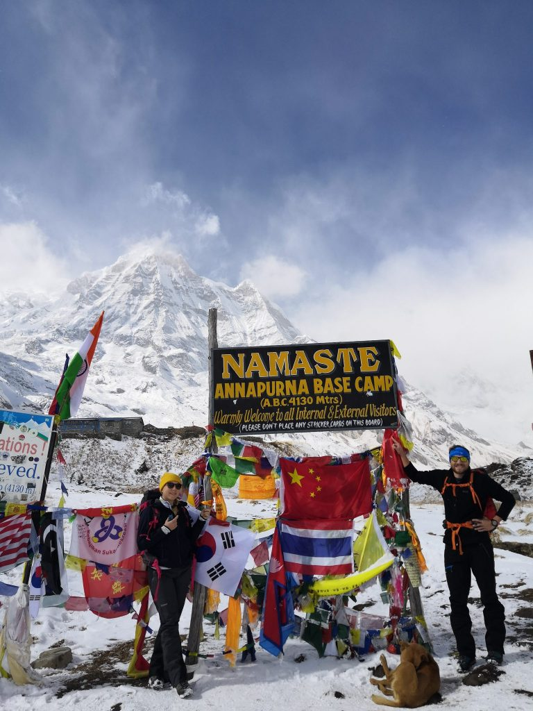 Ankunft im Annapurna Base Camp