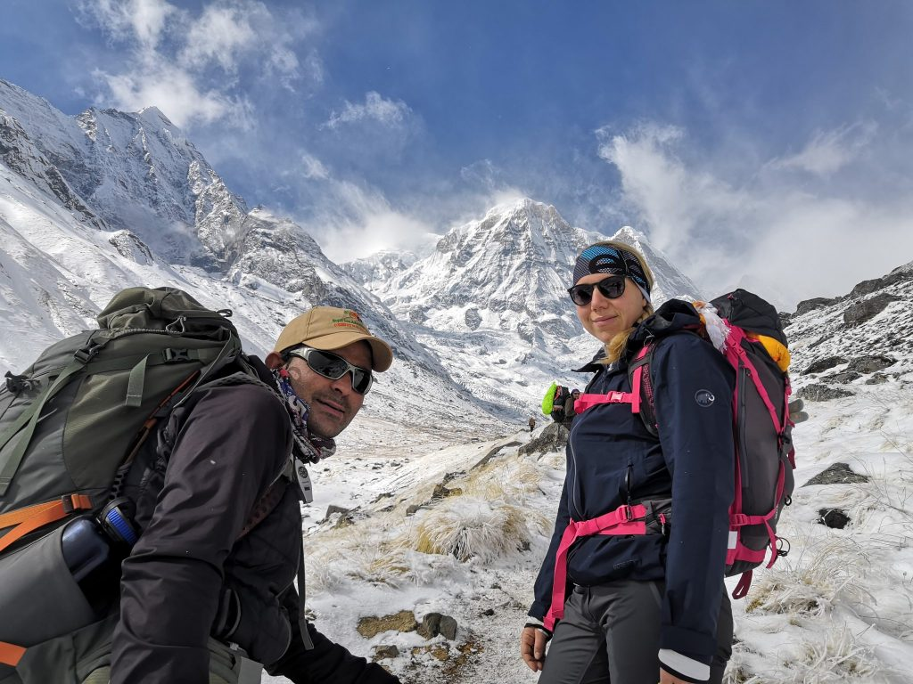Nepal Trekking Guide im Everest Gebirge