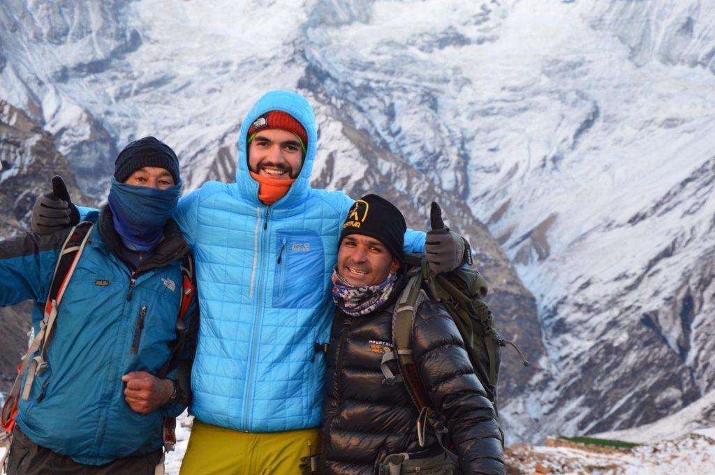 Nepal Trekking Guide und Träger