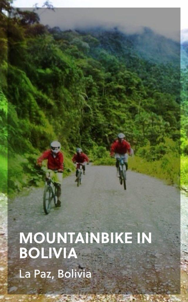 Camino de la muerte Mountainbiking - Bolivia
