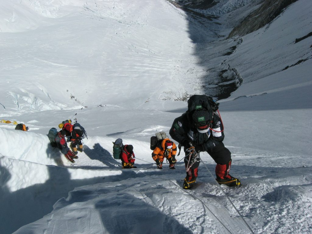 Seven Summits Mount Everest Expedition