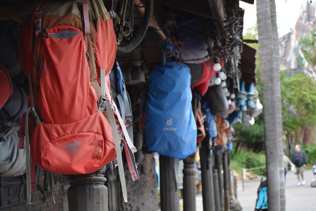 Tagesrucksack Everest Trekking mit Träger