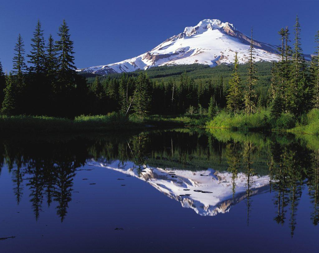 Besteigung Mount Hood Gipfel