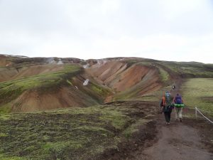Laugavegur Trek, island trekking