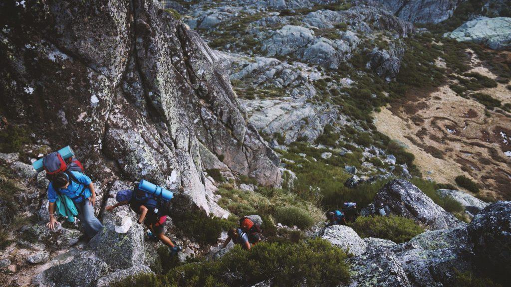 Trekking Rucksack Weg