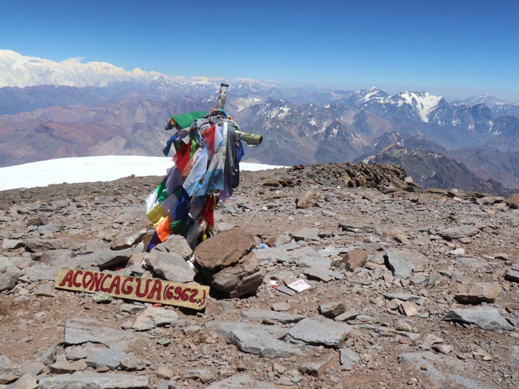 Aconcagua Gipfel Besteigung