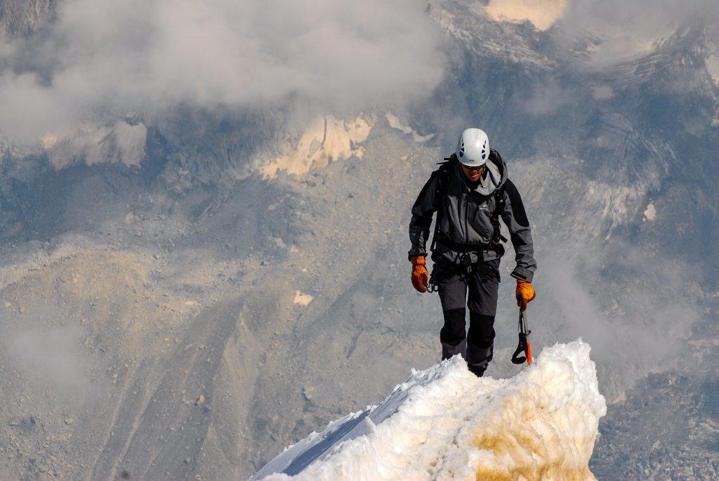 Bergsteigen für Einsteiger
