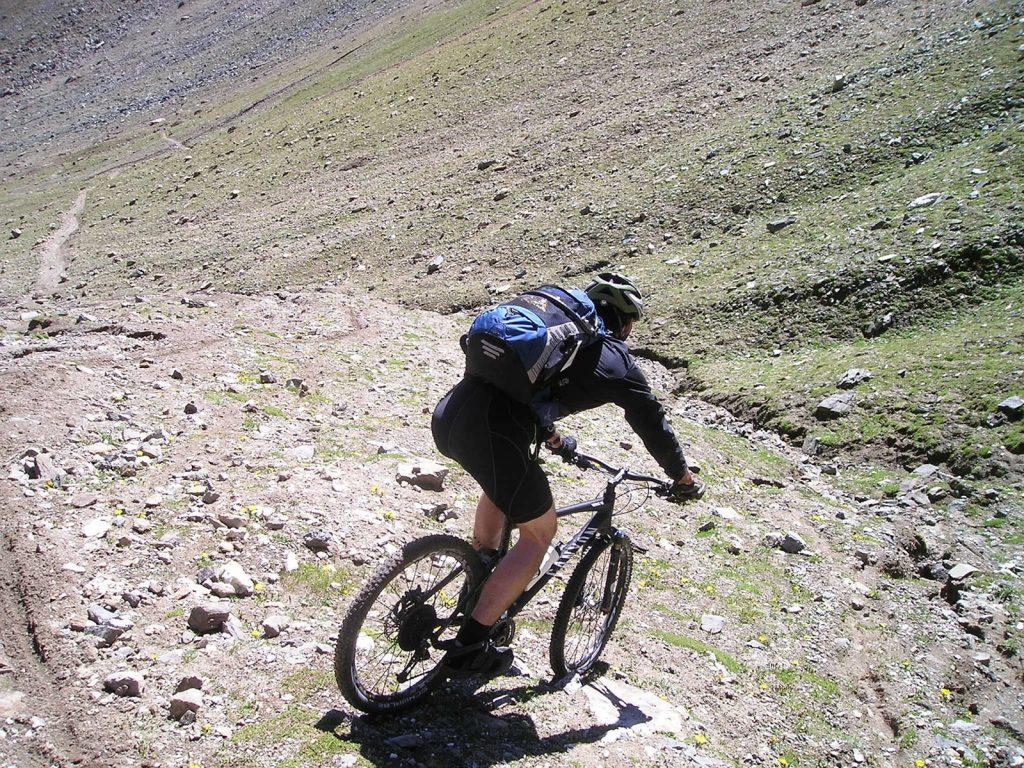 Downhill Mountainbike Achnashellach - Schottland