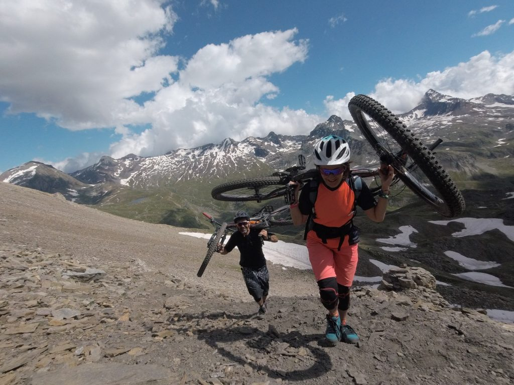 Mountainbike Touren in Cerro Paine - Chile