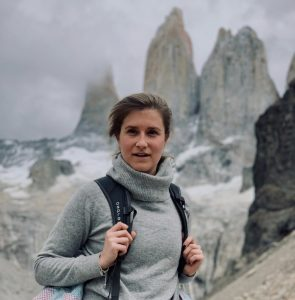 Isa auf dem W Trek Patagonien