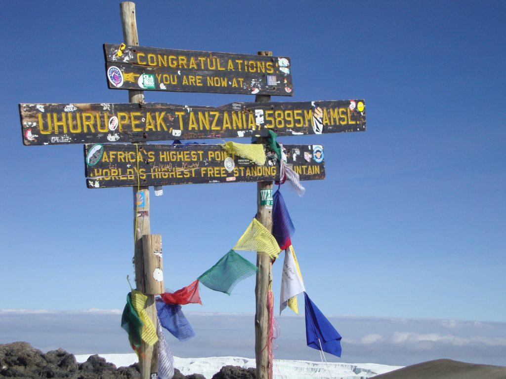 Kilimandschardo - Uhuru Peak Tanzania