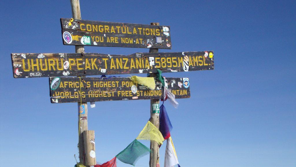 Kilimandscharo Besteigung 7 Summits