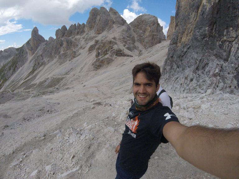 Influencer Rene - Trekking in den Dolomiten