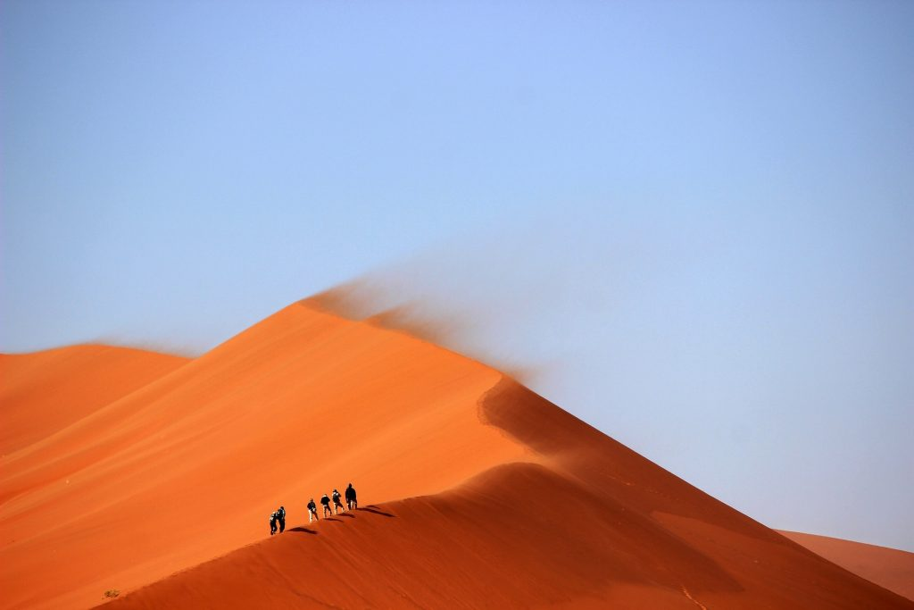 Wüsten Trekking Sahara Marokko