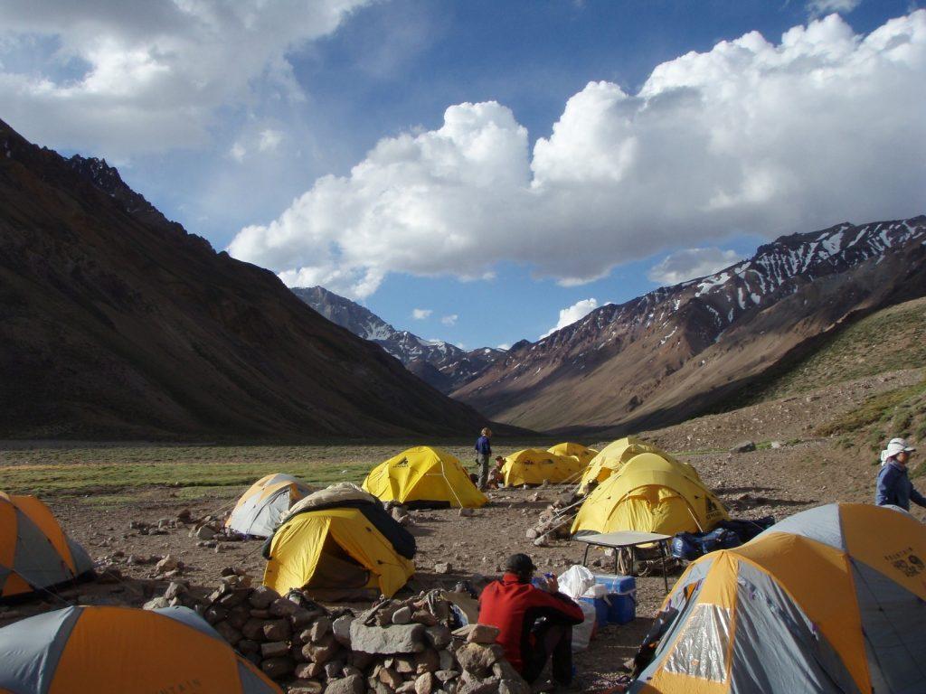 Aconcagua Besteigung Base Camp