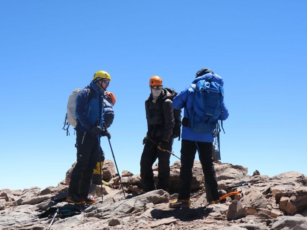 Aconcagua Besteigung Gipfel