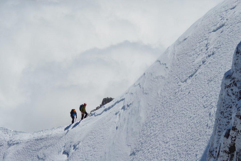 Besteigung Mont Blanc