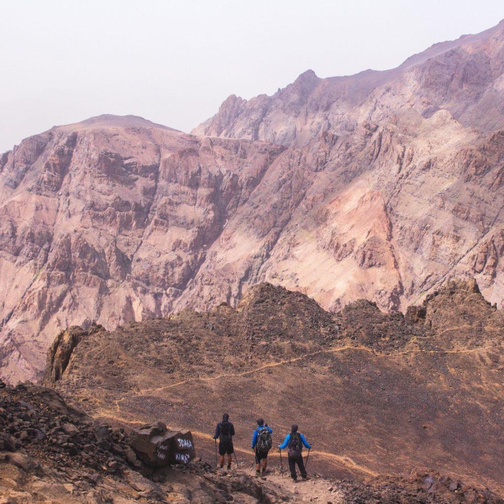 Jebel Toubkal Besteigung Marokko