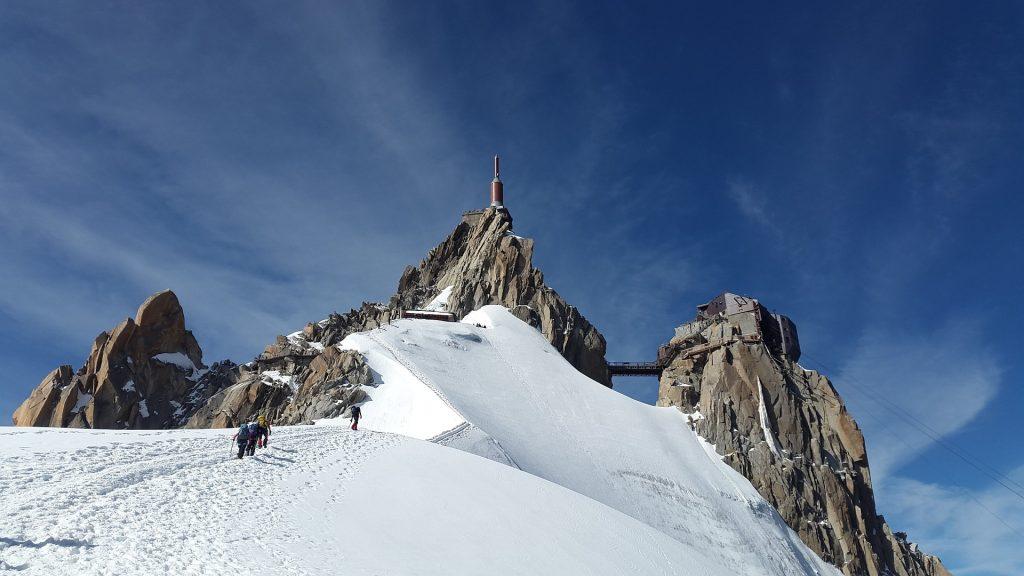 Mont Blanc Besteigung Frankreich