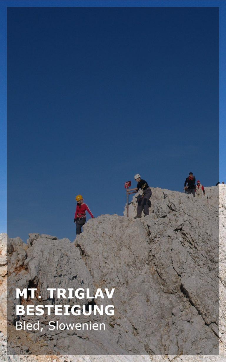 Mount Triglav Besteigung
