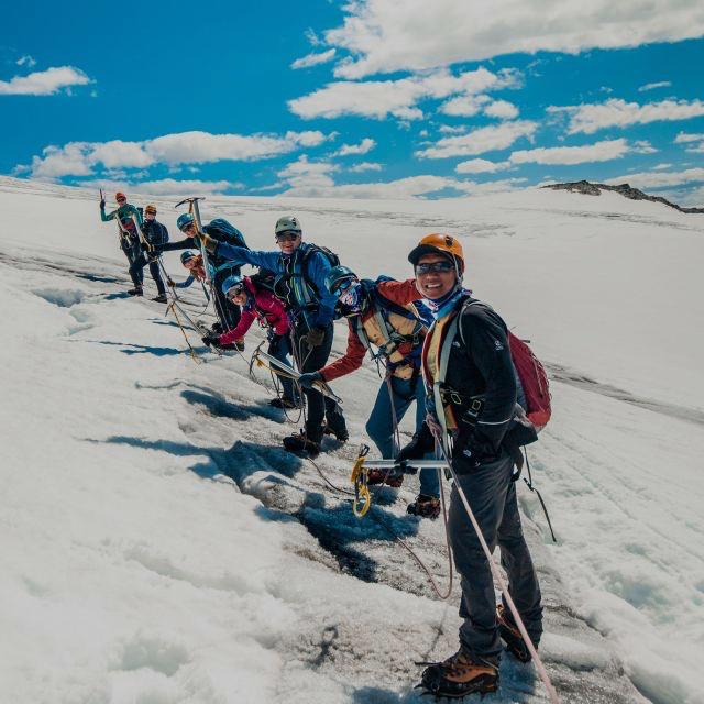 Norwegen Gletscher-Trekking