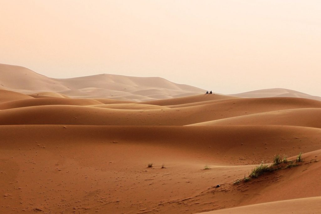Sahara Wüste Marokko Trekking