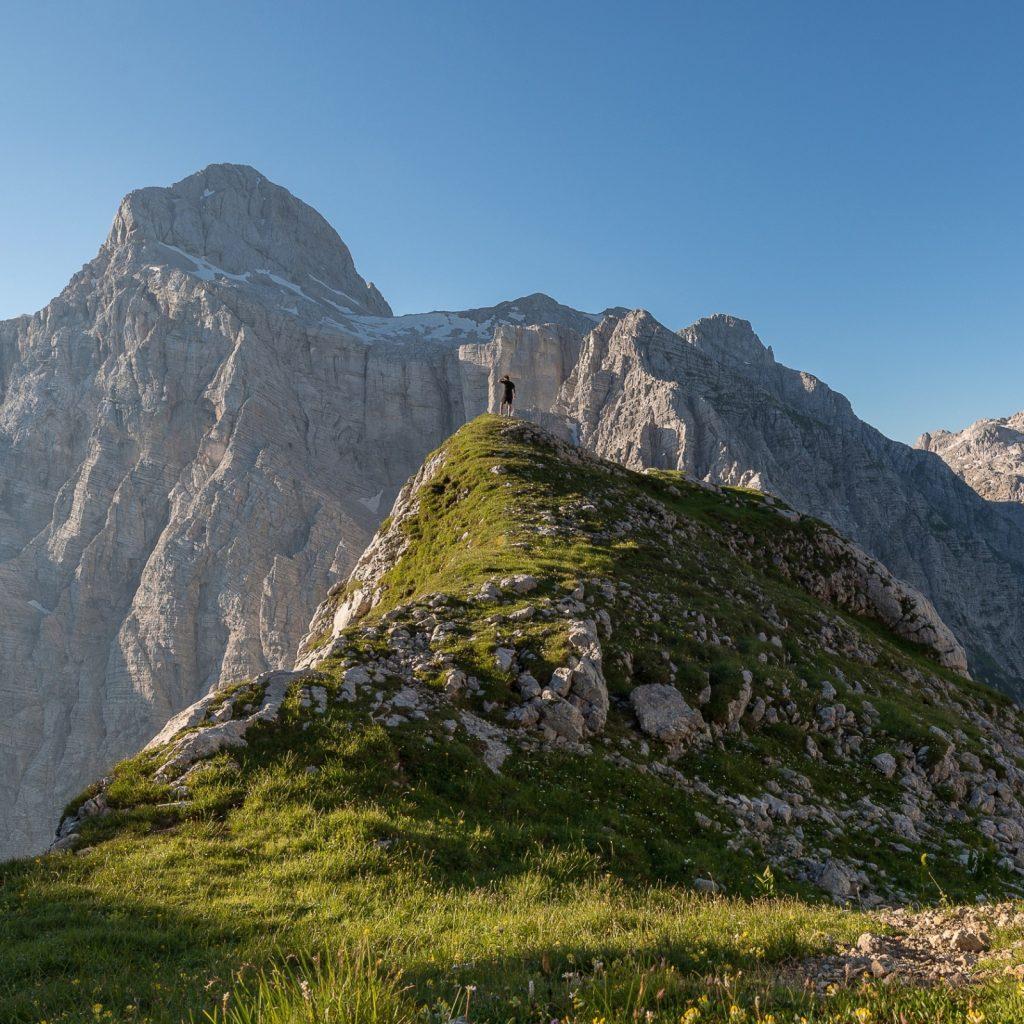 Slowenien Mt. Triglav Besteigung