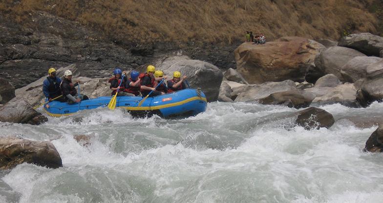 Sunkoshi-Rafting Nepal