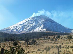 Iztaccíhuatl-Vulkan-Mexiko