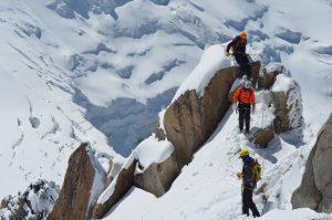 Mont Blanc Besteigung Chamonix