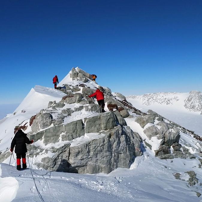 Mount Vinson Besteigung