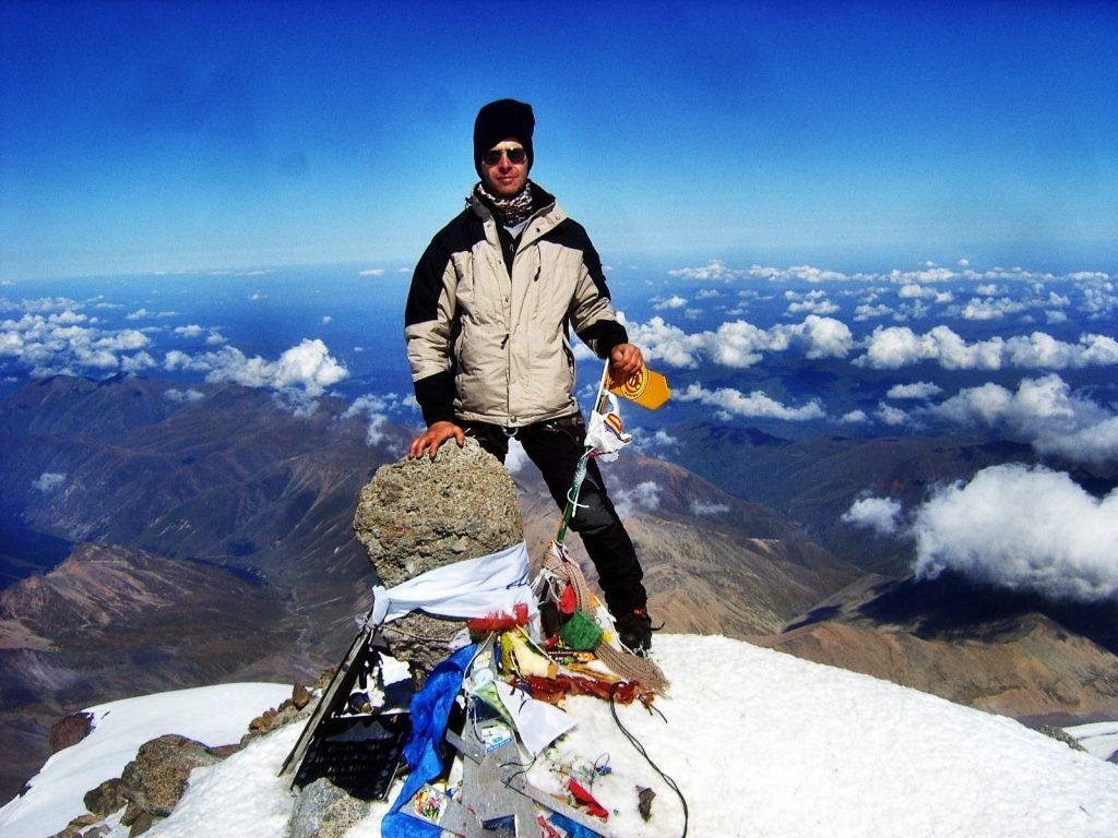 Jürgen-Landmann-Elbrus-Gipfel
