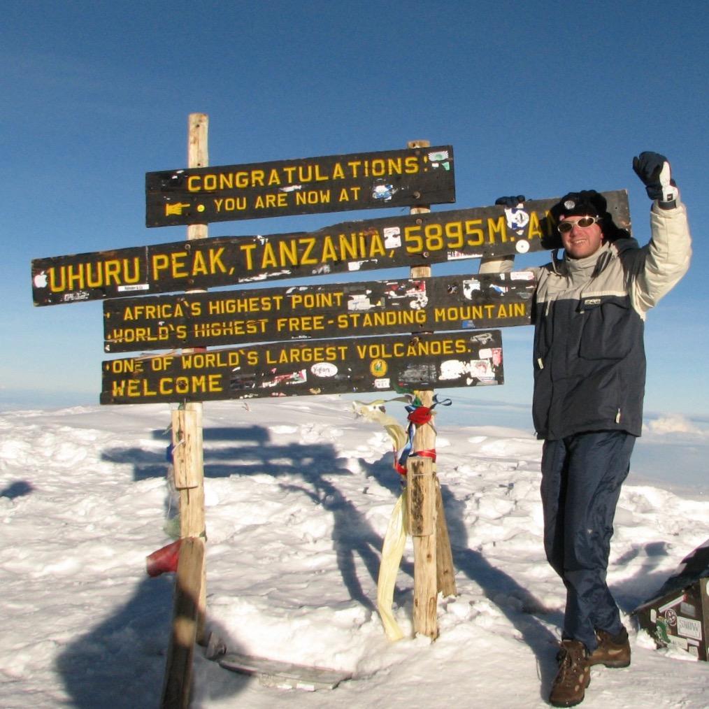 KILIMANDSCHARO Gipfel
