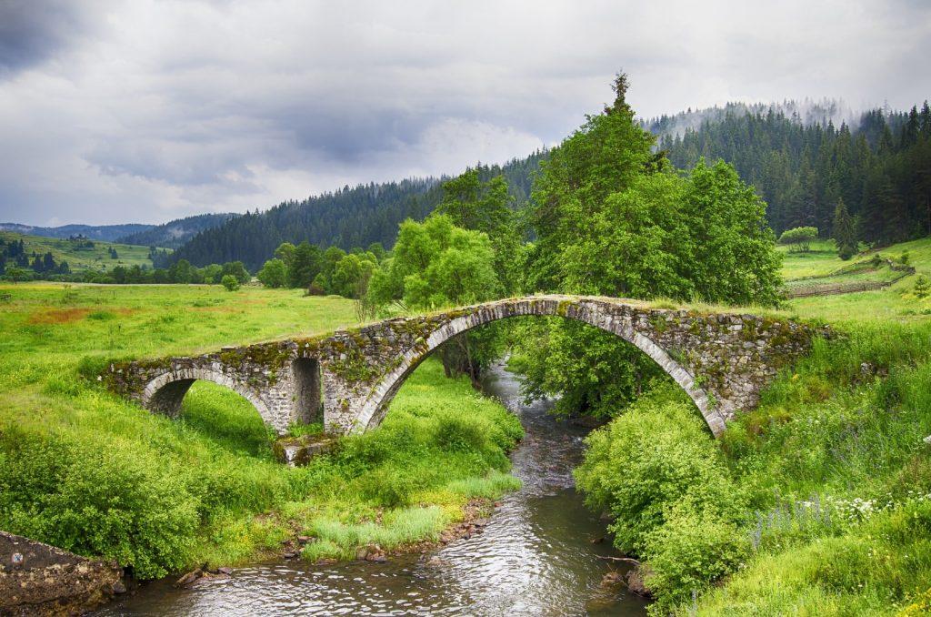 Rhodopen Wandern Brücke