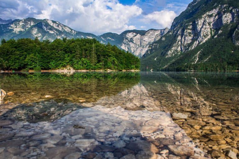 Slowenien Alpen Triglav Nationalpark Bohinj See