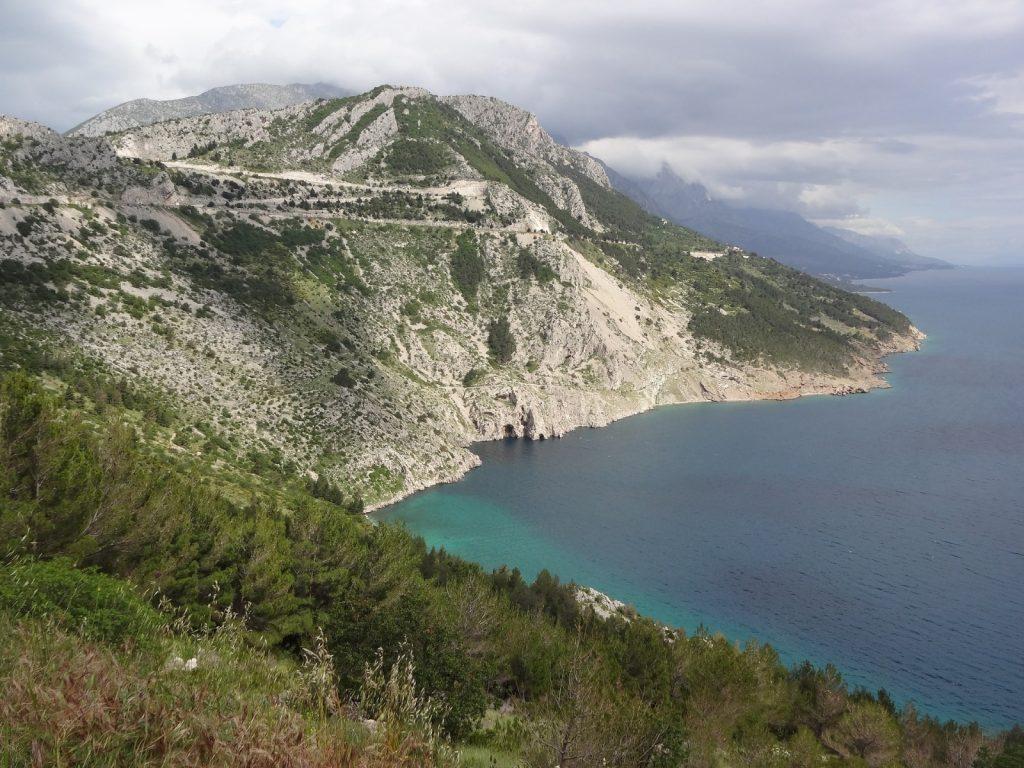 Wandern Kroatien biokovo berg
