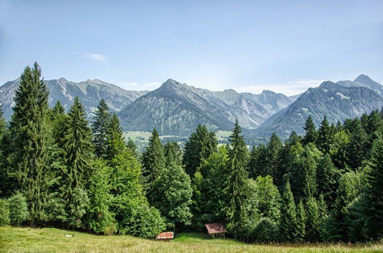e5 alpenueberquerung Oberstdorf allgaeu