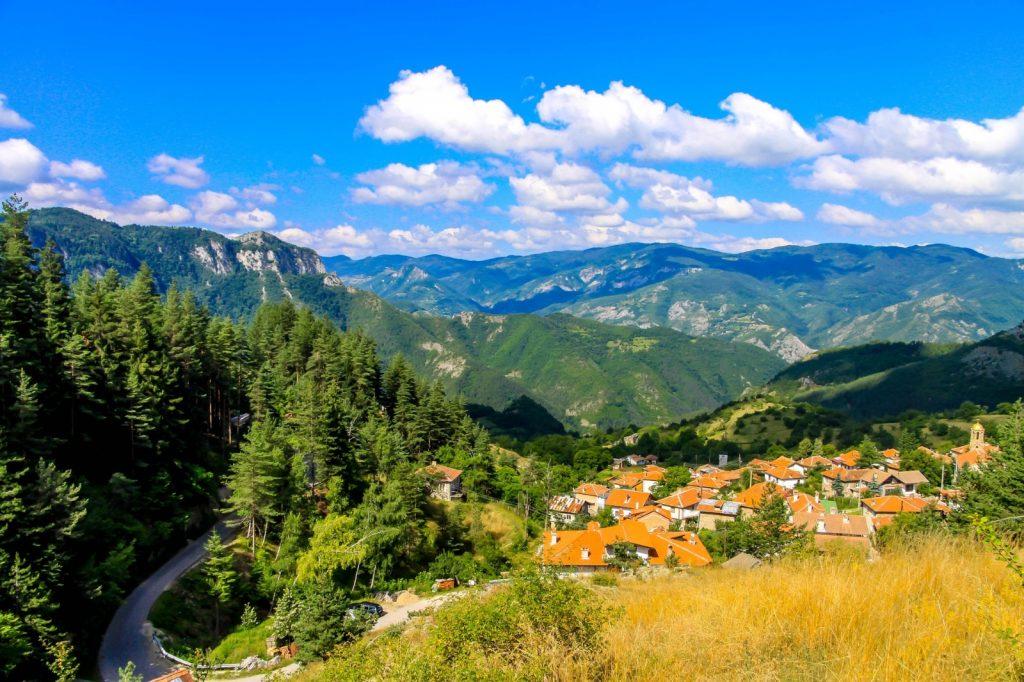 Gebirge in Bulgarien Berge