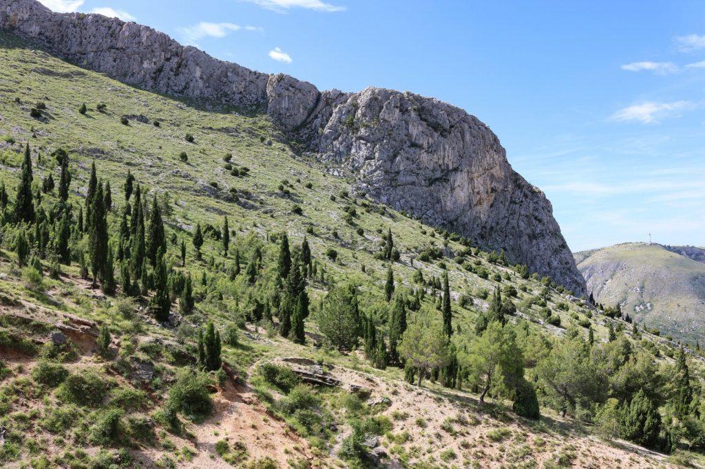 Maglic Bosnien Herzegowina wandern