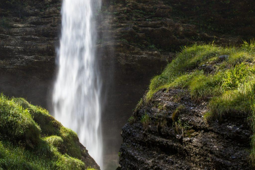 Pericnik Wasserfall Vrata Tal Slowenien