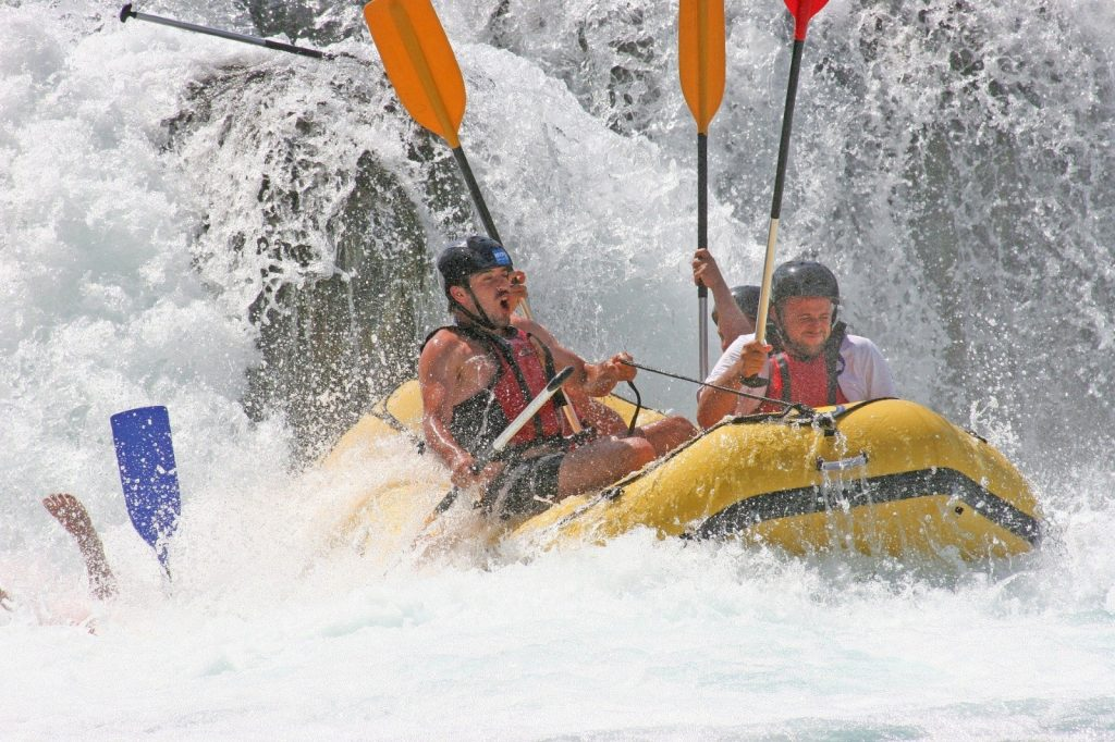 Rafting Una Fluss Bosnien Herzegowina