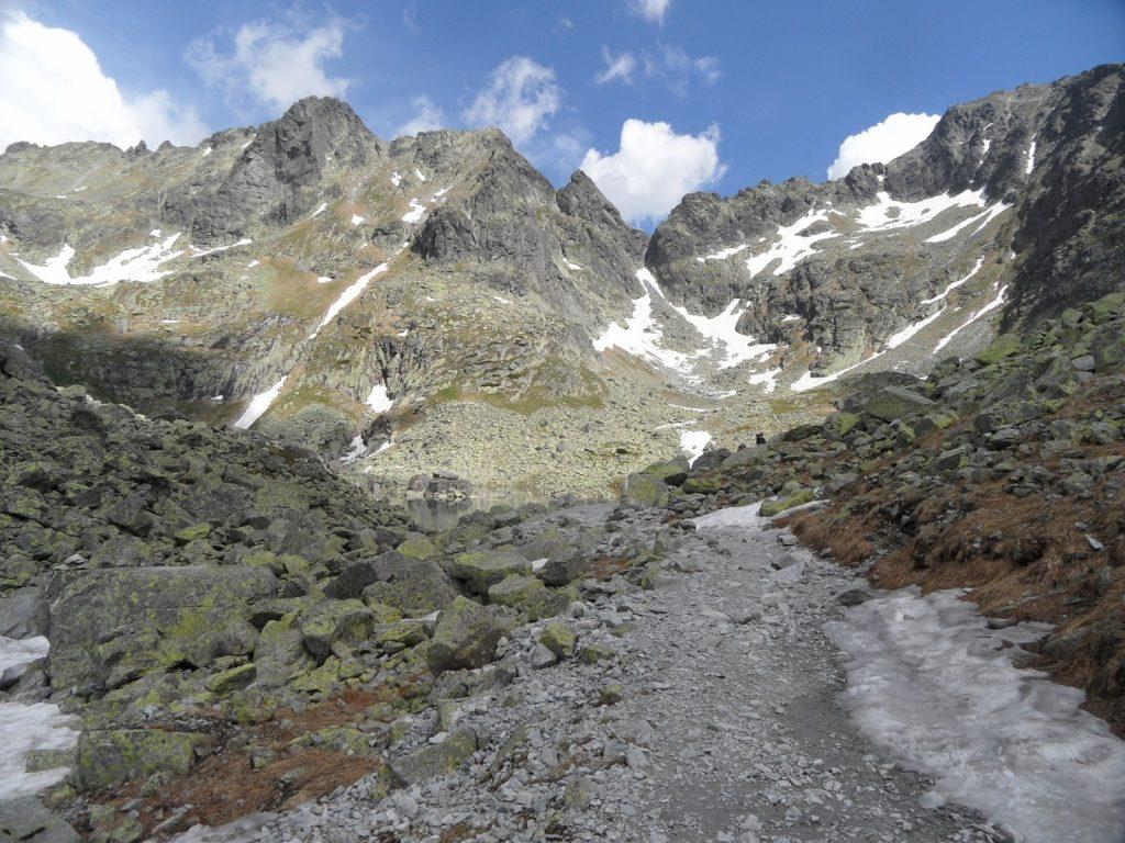 Rysy Besteigung hoechster Berg Polens