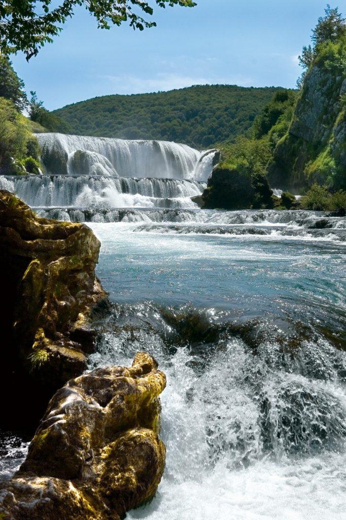Štrbacki Buk Una Nationalpark Fluss Bosnien
