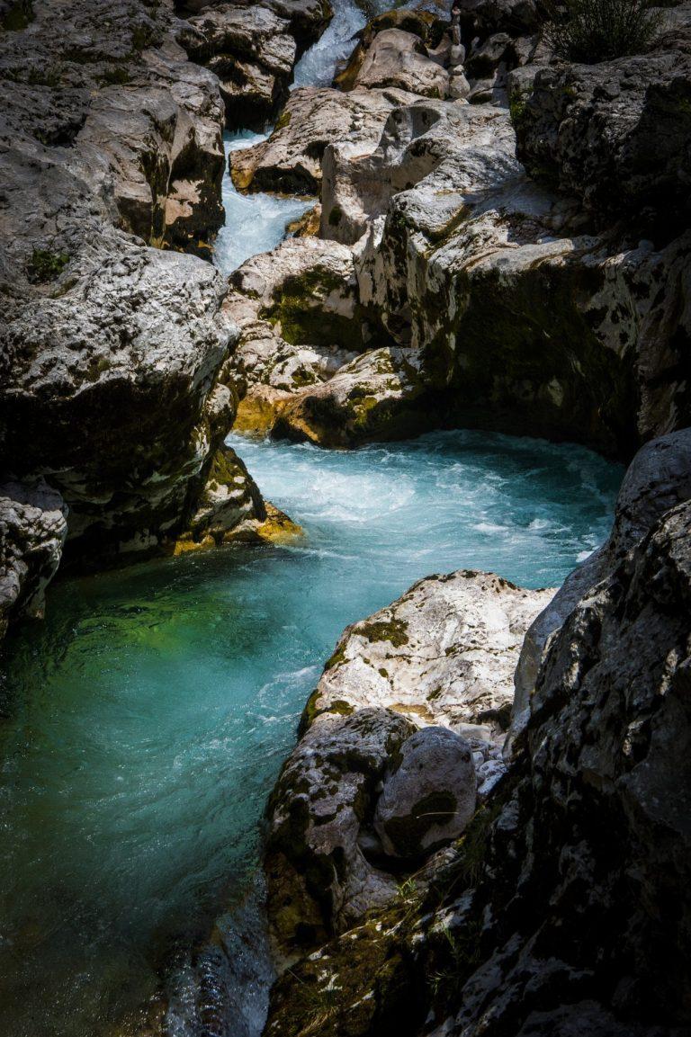 Soca Tal Soca Fluss Slowenien