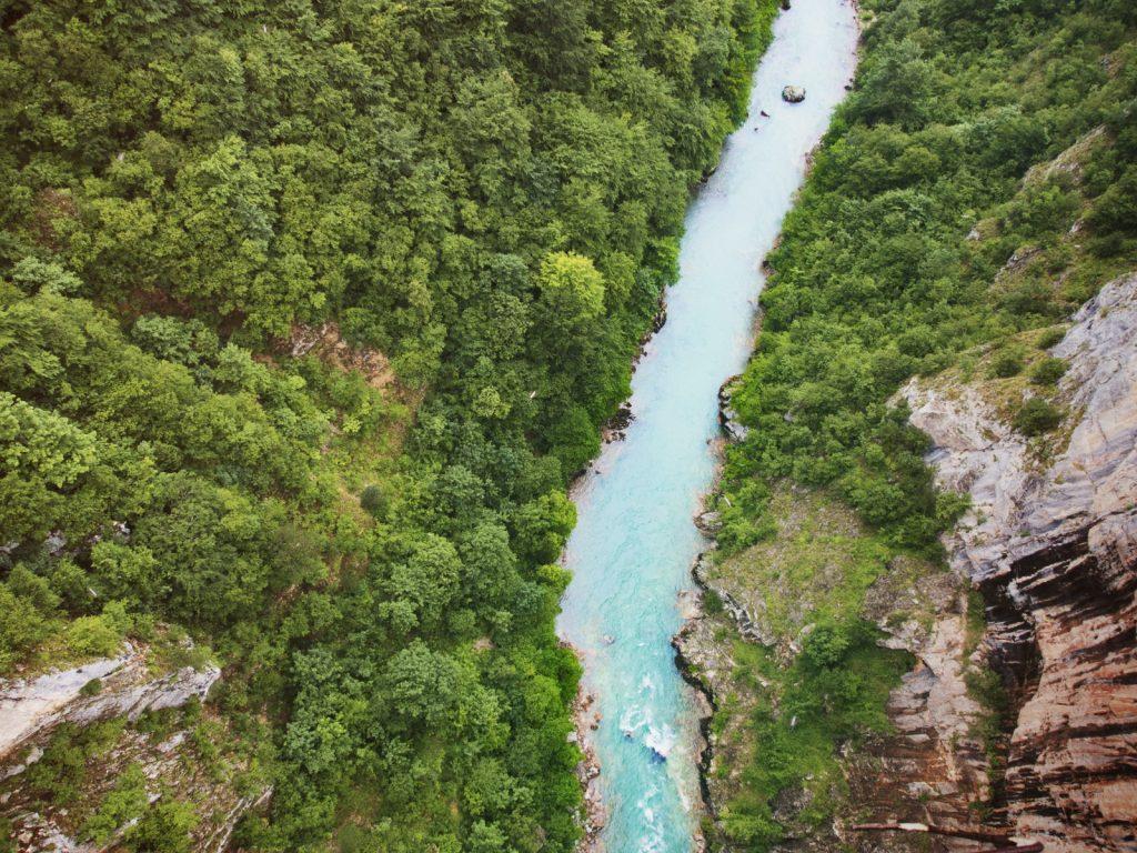 Tara Schlucht Montenegro Tara Fluss