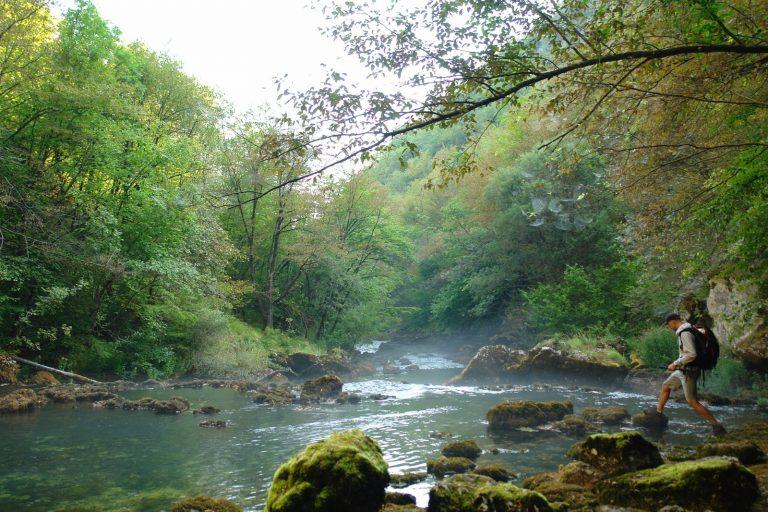 Una Fluss Nationalpark Bosnien